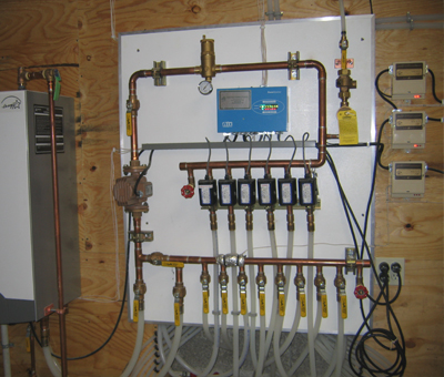 hydronic radiant floor heating | sundance power